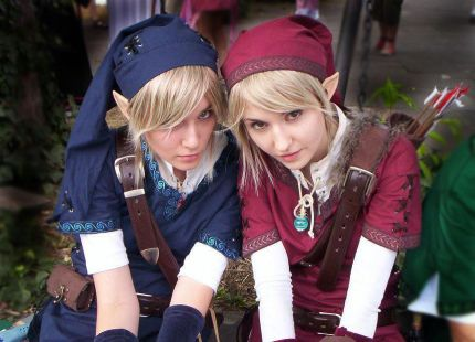 Zelda Link Cosplayers
